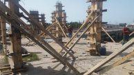 Sahil kafenin yapımına başlandı…