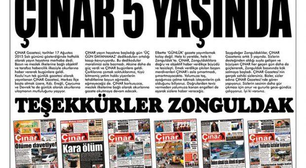 Teşekkürler Zonguldak… İyi ki varsınız…