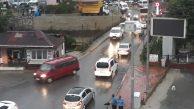 Kozlu Sahil Yolu kapandı… Trafik üst yoldan akıyor…