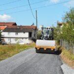 Ören'de yollar asfaltlandı…