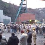 Madenci şehitler için dua etti…